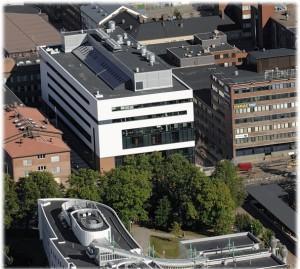 Linna ja yliopiston katto